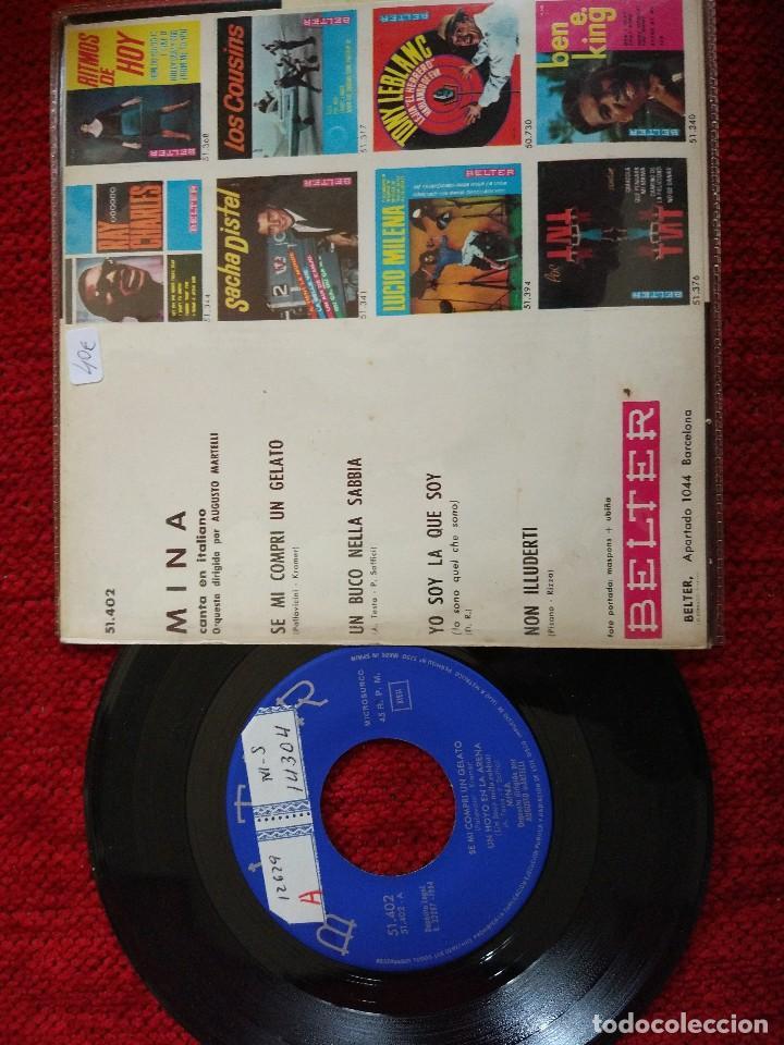 Discos de vinilo: MINA se me compre gelato EP - Foto 2 - 65863766