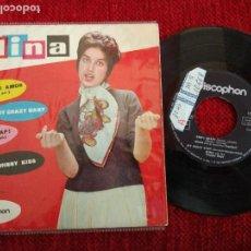 Discos de vinilo: MINA CHIP! CHAP! EP. Lote 65863942