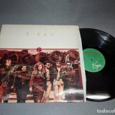Discos de vinilo: 918- T`PAU- RAGE -LP DISCO VINILO- PORTADA VG + / DISCO VG +. Lote 65871278