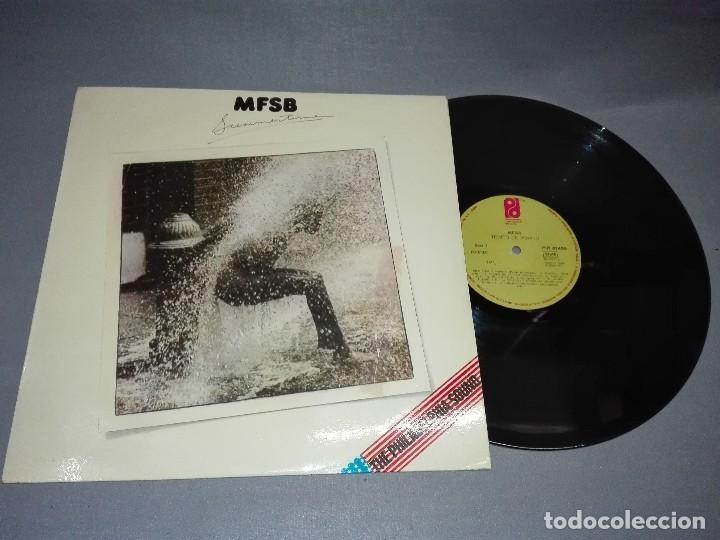 918- MFSB-SUMMERTIME DISCO VINILO LP PORTADA VG +/++ / DISCO VG + (Música - Discos - LP Vinilo - Otros estilos)