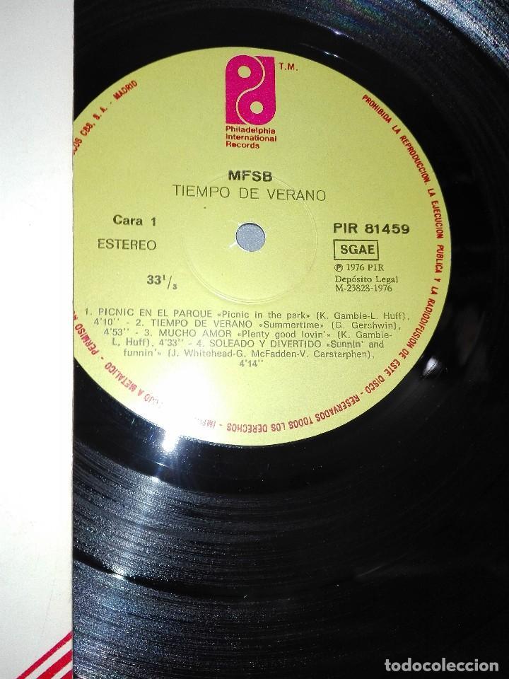 Discos de vinilo: 918- MFSB-SUMMERTIME DISCO VINILO LP PORTADA VG +/++ / DISCO VG + - Foto 2 - 65872866