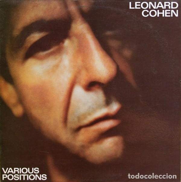 LEONARD COHEN - LP. VARIOUS POSITIONS - ORIGINAL SPAIN 1984 (Música - Discos - LP Vinilo - Cantautores Extranjeros)