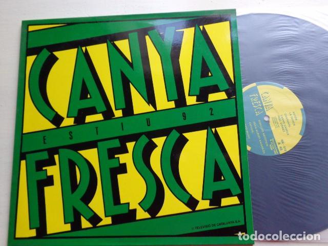 CARME CANELA - PERE GÓMEZ - CANYA FRESCA - LA TRINCA - MAXI SINGLE - BLANCO Y NEGRO - 1992 (Música - Discos de Vinilo - Maxi Singles - Otros estilos)