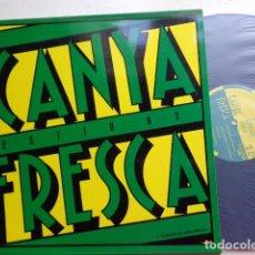 Discos de vinilo: CARME CANELA - PERE GÓMEZ - CANYA FRESCA - LA TRINCA - MAXI SINGLE - BLANCO Y NEGRO - 1992. Lote 65876150