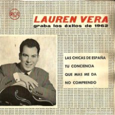 Discos de vinilo: EP LAUREN VERA : ESPAÑA. Lote 65879430