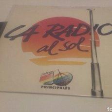 Discos de vinilo: VICKY LARRAZ-LA RADIO AL SOL-OLE OLE. Lote 65879887