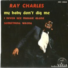 Discos de vinilo: EP RAY CHARLES : MY BABY DON´T DIG ME . Lote 65879894