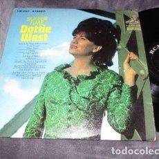 Discos de vinilo: DOTTIE WEST - SUFFER TIME 66 !! CHET ATKINS, RARA 1ª EDC ORG USA, 1º PRENSAJE RCA + ENCARTE,. Lote 65893490