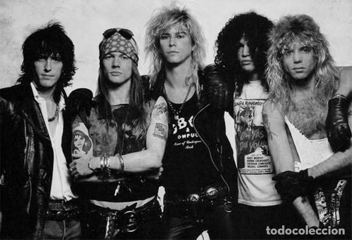 Discos de vinilo: Sweet Child OMine / Welcome to the Jungle de Guns n Roses. Single de máquina juke box USA. 1987 - Foto 4 - 206977238