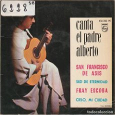 Discos de vinilo: RELIGIOSOS - PADRE ALBERTO / FRAY ESCOBA + 3 (EP 1964). Lote 65906426