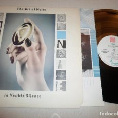 Disques de vinyle: ART OF NOISE,THE - IN VISIBLE SILENCE 1986 USA. Lote 65908826