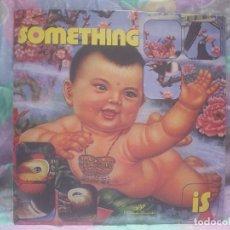 Discos de vinilo: SOMETHING - IS (AL-LELUIA RCDS. 1996). Lote 65911278