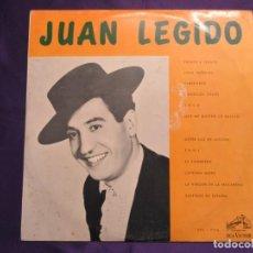 Discos de vinilo: JUAN LEGIDO. RCA VICTOR. EDITADO EN VENEZUELA. Lote 65917934