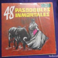 Discos de vinilo: 48 PASODOBLES INMORTALES. ED. FONOGRAMA. LP. Lote 65923194