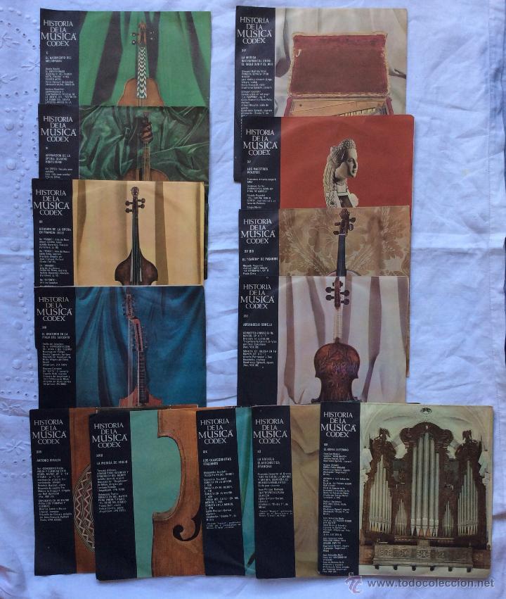 Discos de vinilo: DISCOS ,LOTE DE 115 DISCOS HISTORIA DE LA MUSICA CODEX ,IDEAL COLECCIONISTAS - Foto 2 - 182384801
