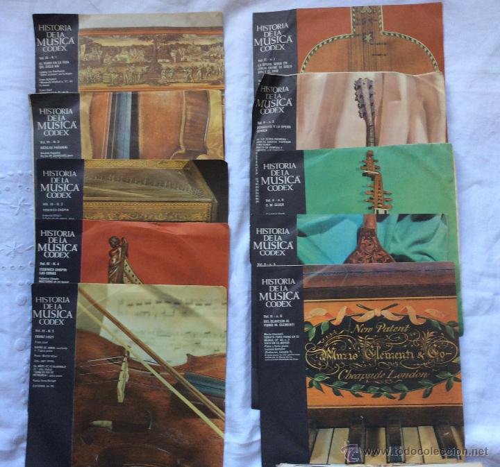 Discos de vinilo: DISCOS ,LOTE DE 115 DISCOS HISTORIA DE LA MUSICA CODEX ,IDEAL COLECCIONISTAS - Foto 3 - 182384801