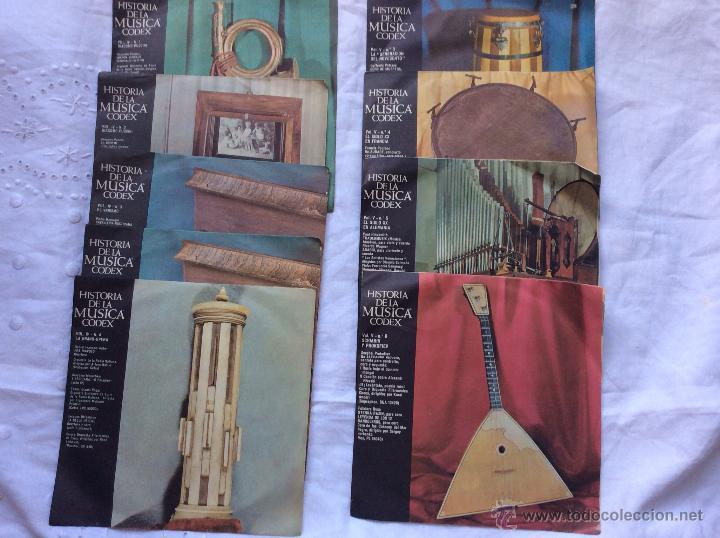Discos de vinilo: DISCOS ,LOTE DE 115 DISCOS HISTORIA DE LA MUSICA CODEX ,IDEAL COLECCIONISTAS - Foto 4 - 182384801