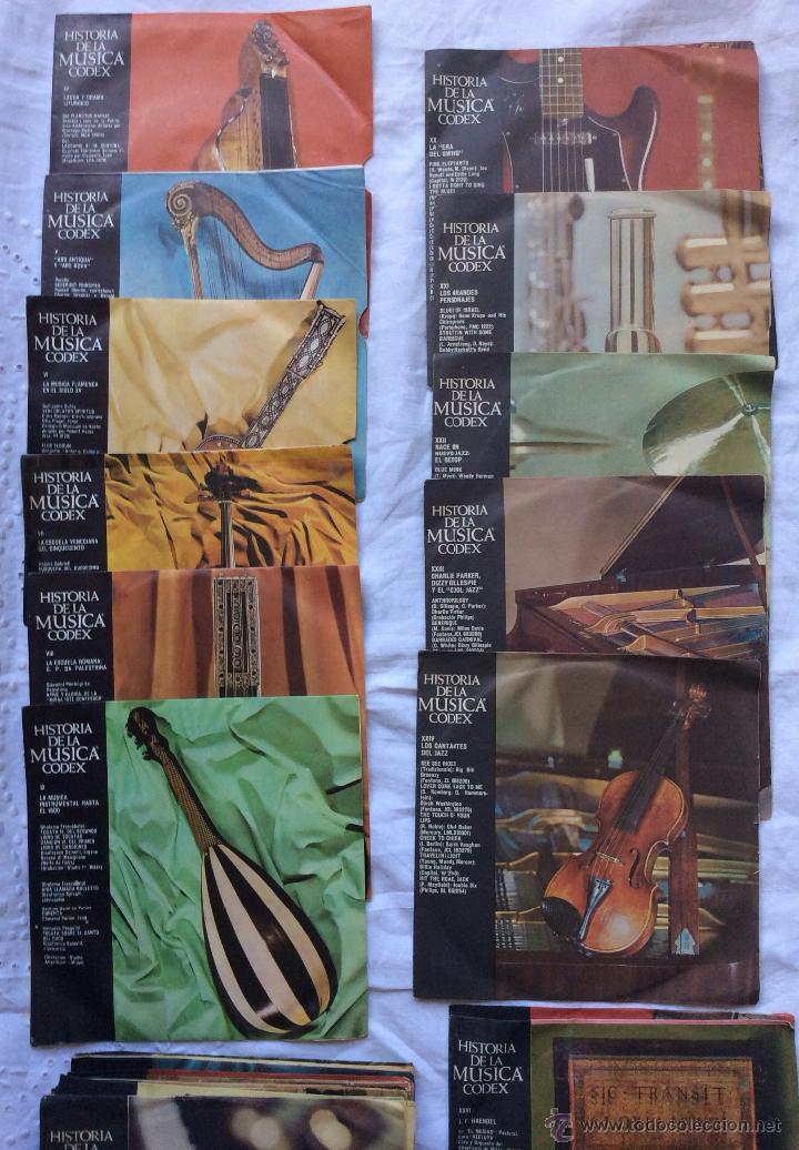 Discos de vinilo: DISCOS ,LOTE DE 115 DISCOS HISTORIA DE LA MUSICA CODEX ,IDEAL COLECCIONISTAS - Foto 5 - 182384801