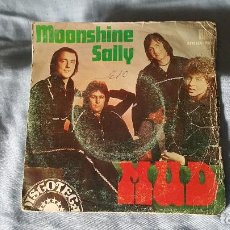 Discos de vinilo: MUD – MOONSHINE SALLY - 1975. Lote 65931606