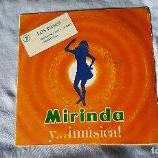 Discos de vinilo: LOS PASOS – PRIMAVERA EN LA CIUDAD - PROMOCIONAL MIRINDA - 1969. Lote 65932918