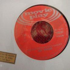 Discos de vinilo: DUO DINAMICO AQUELLA MELODÍA SINGLE CARA B JOSÉ MARTÍNEZ GUITARRISTA INSTRUMENTAL DISCO PROMOCIONAL. Lote 65884550