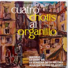 Discos de vinilo: CUATRO CHOTIS AL ORGANILLO.A. APRUZZESE. EP. Lote 65942126