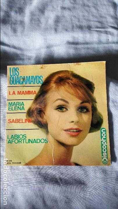 LOS GUACAMAYOS (Música - Discos - Singles Vinilo - Grupos Españoles 50 y 60)