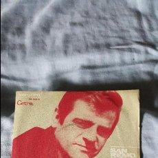 Discos de vinilo: SERGIO ENDRIGO – L'ARCA DI NOÉ - SAN REMO 1970. Lote 65951690