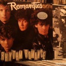 Disques de vinyle: THE ROMANTICS – RHYTHM ROMANCE LP 1985. Lote 65959062
