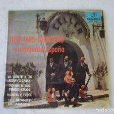 Discos de vinilo: JOSE LUIS QUINTERO Y CONJUNTO ESPAÑA (SCGE 81.277). Lote 121826579