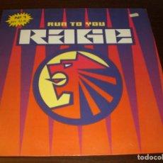 Discos de vinilo: RAGE - RUN TO YOU. Lote 65965834