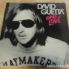 Discos de vinilo: DAVID GUETTA – ONE LOVE DOBLE LP. Lote 65973602