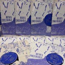 Discos de vinilo: MÚSICA INOLVIDABLE DE AYER, HOY Y SIEMPRE / READER'S DIGEST - 1965. COMPLETA 12 DISCOS / MBC. ***. Lote 65975506