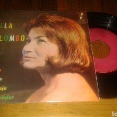 Discos de vinilo: NELLA COLOMBO:CHARIOT/EL FIN/BUEN VIAJE/EL PECADOR (EP.7
