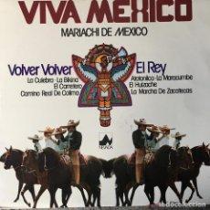 Discos de vinilo: VIVA MEXICO - MARIACHI DE MEXICO . LP . 1977 NEVADA . Lote 65998366