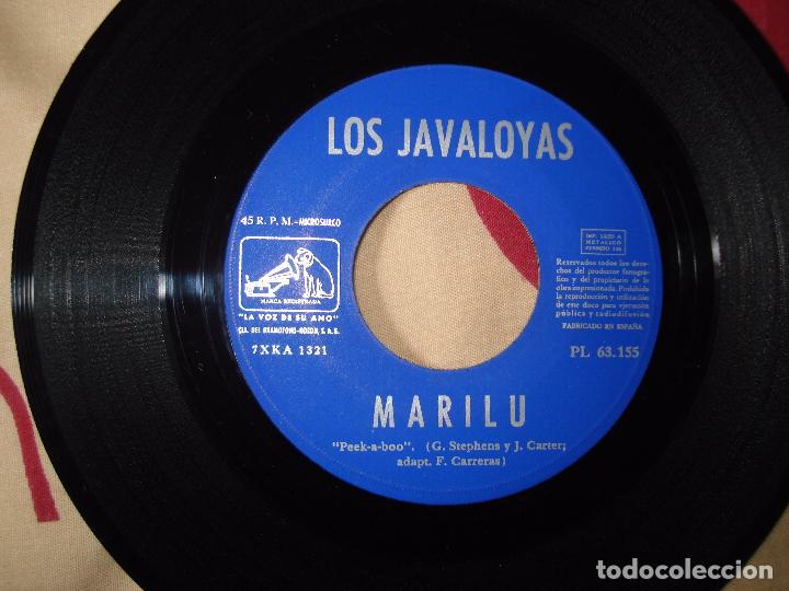 Discos de vinilo: los javaloyas - amor es mi cancion / marilu, single español de 1967 - Foto 3 - 66002922