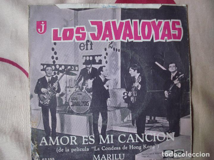 Discos de vinilo: los javaloyas - amor es mi cancion / marilu, single español de 1967 - Foto 4 - 66002922