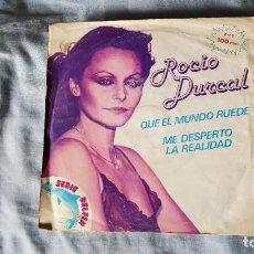 Discos de vinilo: ROCIO DURCAL - QUE EL MUNDO RUEDE (1980-MEXICO). Lote 66003134
