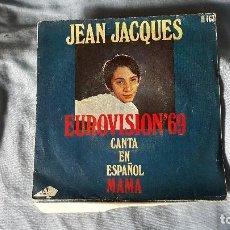 Discos de vinilo: JEAN JACQUES - EUROVISION 69 - CANTA EN ESPAÑOL. Lote 66003490