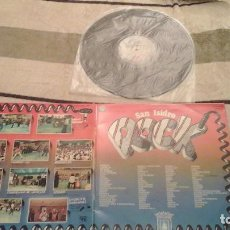 Discos de vinilo: SAN ISIDRO ROCK - 1º DISCO DEL CONCURSO - KAKA DE LUXE, PARACELSO, MERMELADA ,ETC -1978. Lote 66006142