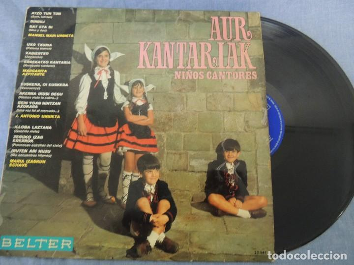 AUR KANTARIAK NIÑOS CANTORES (Música - Discos de Vinilo - Maxi Singles - Música Infantil)