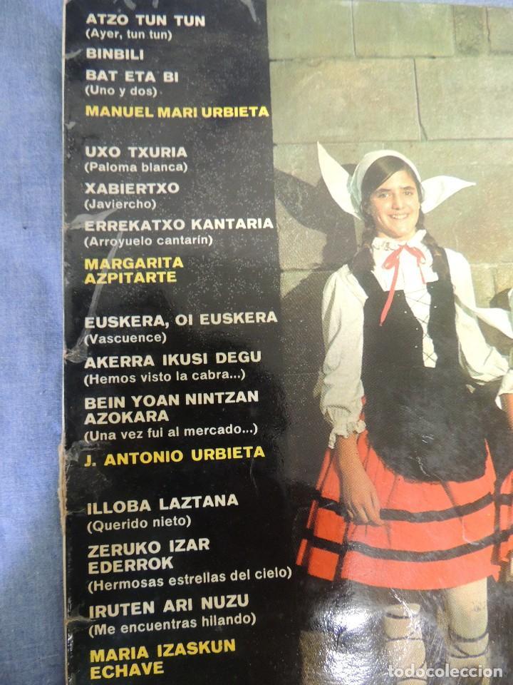 Discos de vinilo: aur kantariak niños cantores - Foto 2 - 220383370