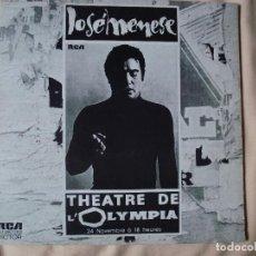 Discos de vinilo: JOSE MENESE EN EL OLYMPIA. Lote 66008026