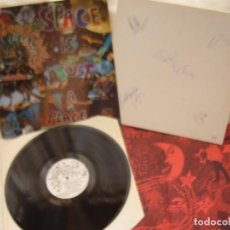 Discos de vinilo: EARCANDY ‎– SPACE IS JUST A PLACE (PSYCH, PROG ROCK) 1993 NUMERADO Y FIRMADO. Lote 66015282