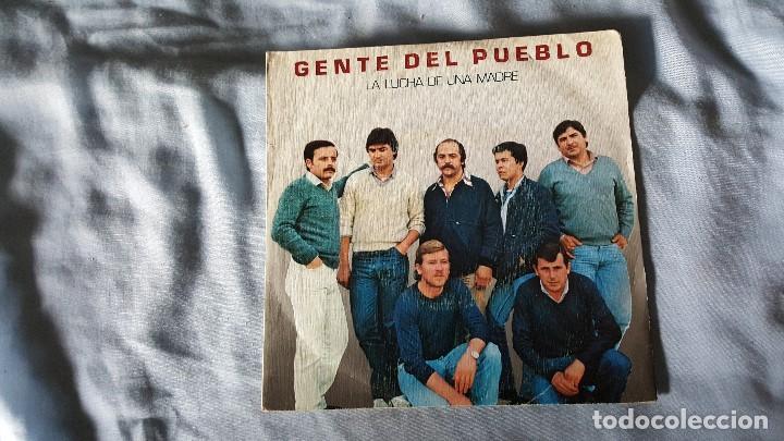 GENTE DEL PUEBLO -LA LUCHA DE UNA MADRE (Música - Discos - Singles Vinilo - Grupos Españoles de los 70 y 80)