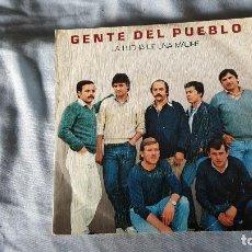 Discos de vinilo: GENTE DEL PUEBLO -LA LUCHA DE UNA MADRE. Lote 66027898
