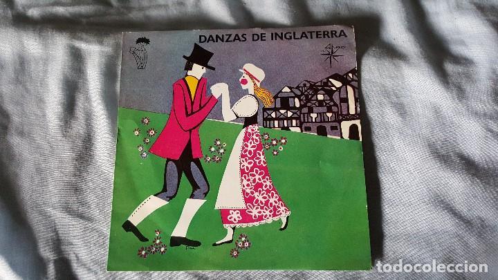 DANZAS DE INGLATERRA (Música - Discos - Singles Vinilo - Country y Folk)