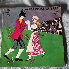 Discos de vinilo: DANZAS DE INGLATERRA. Lote 66030950