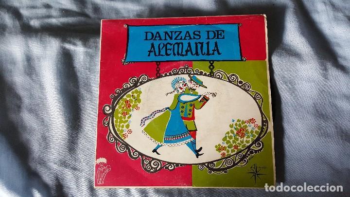 DANZAS DE ALEMANIA (Música - Discos - Singles Vinilo - Country y Folk)