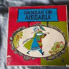 Discos de vinilo: DANZAS DE ALEMANIA. Lote 66031210